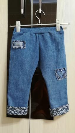 Фото. Переделка - штанишки внучке.  Автор работы - lana29.09