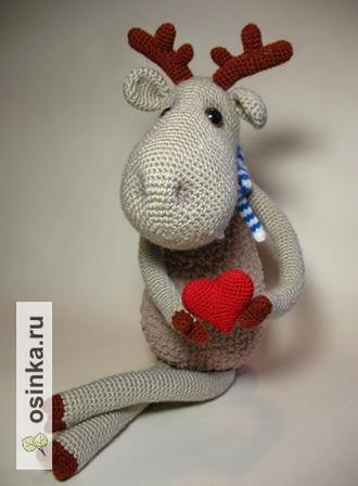 Фото. Симпатичные игрушки - прекрасный подарок в День Святого Валентина. Особенно, если  к ним прилагается горячее сердце.  Автор - Северодвинка .