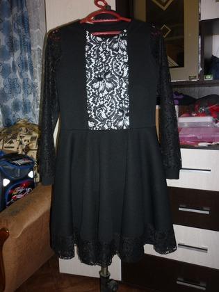 Фото. Платье на 2 сентября.   Автор работы - Слобожанка