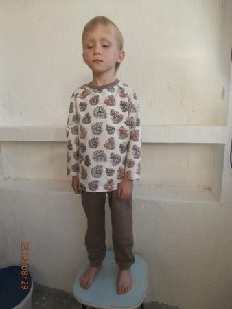 """Фото. """"Шишки"""" - костюм сыну из футера 2-хнитки. Автор работы - vedunia"""