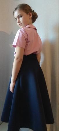 Фото. Костюм дочке в школу. Автор работы - St.Elena