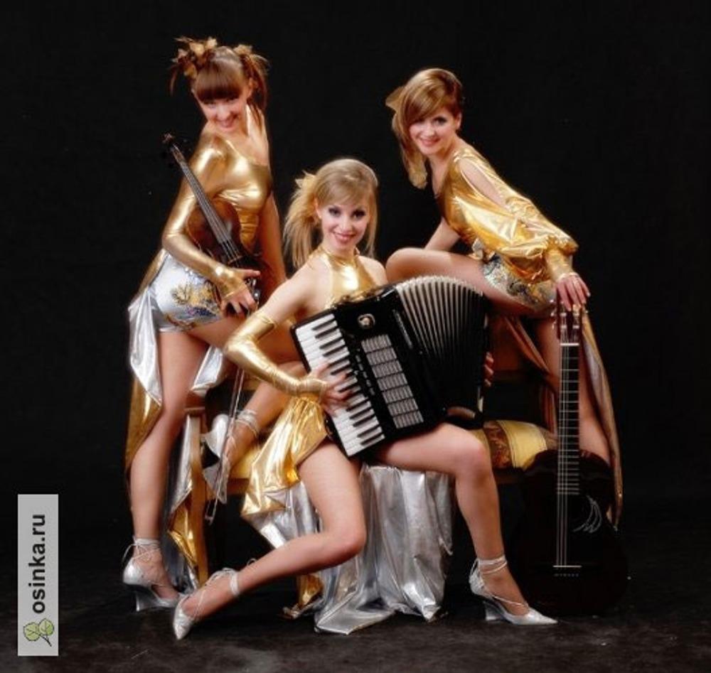 Фото. Концертные костюмы для трио Violin-Хит.