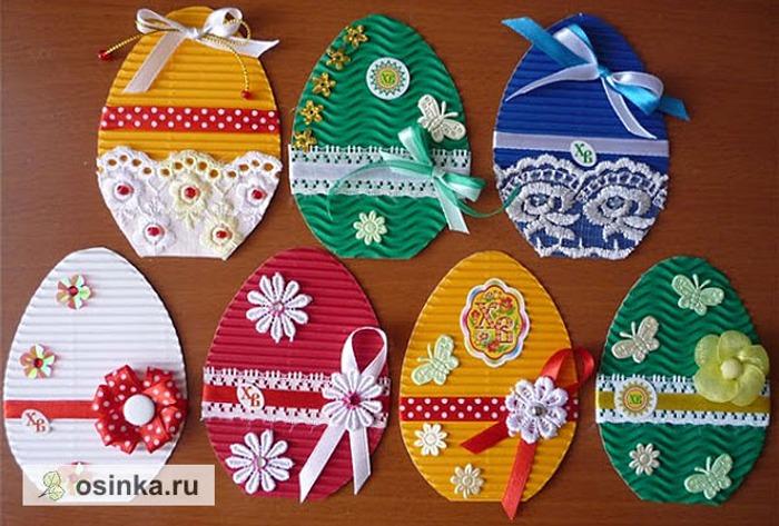 Фото. Миниатюрные пасхальные открыточки от Na2sya . Очень мило, не правда ли?