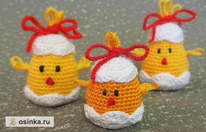 Фото. Симпатичные цыплятки-сувениры. Автор - mirin_ka .