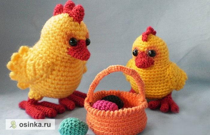 Фото. Птенчики - самая популярная пасхальная тема. Автор - natalja142 .
