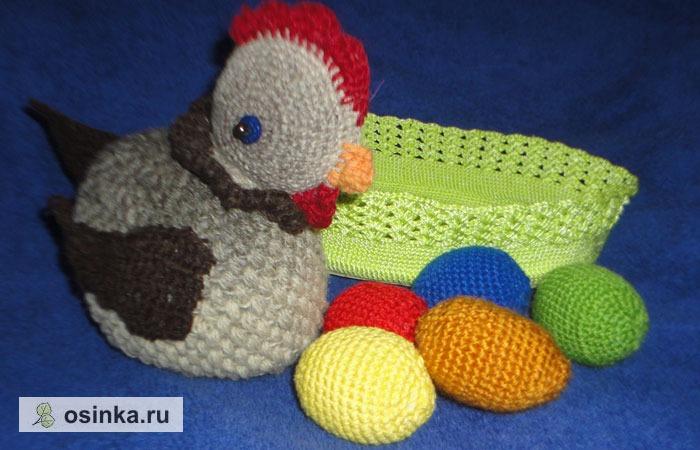 Фото. Курочка и гнездышко с яйцами - самая популярная тема. Автор - НатТусся .