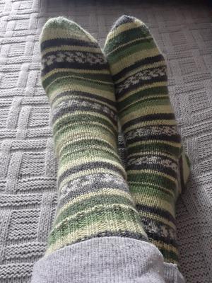 Фото. Сезон носков открыт!  Ведь их приятно не только вязать, но и носить! Автор работы - Рашуля