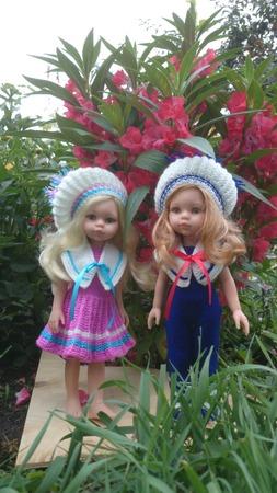 Фото. Мои новые нарядык крючком  на кукол Паолочек. Автор работы - Rady