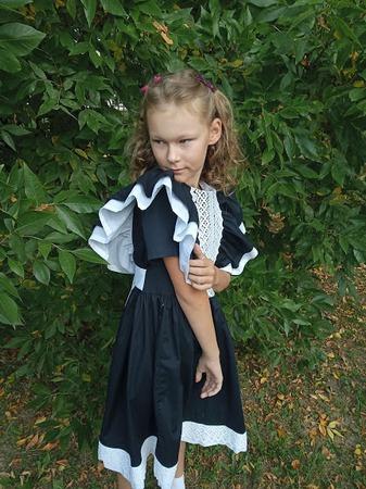 Фото. Праздничное платье для первоклассницы. Автор работы - malyava