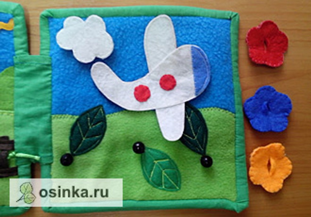 Фото. Стильные книжки-развивашки от katushka_88_88 .