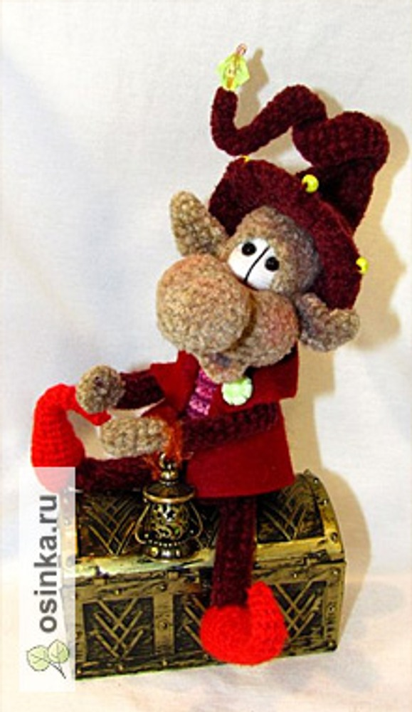 Фото. Гномик и другие игрушки от sapara77 порадуют детишек постарше!