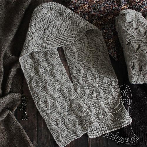 Фото. Двусторонняя шапка-шарф Florentia by Lacelegance.  Автор работы - Lacelegance