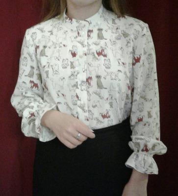 Фото. Блузка для школы. Автор работы - Эля-я