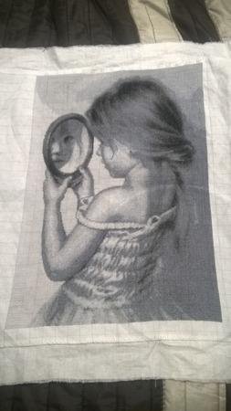 """Фото. """"Девочка с зеркальцем"""".  Автор работы - lora0309"""