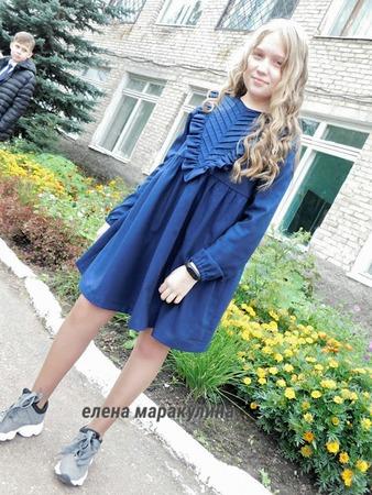 Фото. Школьное платье. Автор работы - Елена весенняя