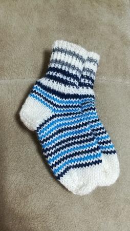 Фото. Детские носочки.  Автор работы - lana29.09