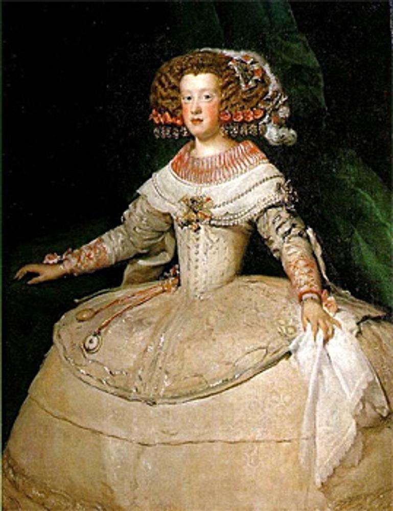 """Фото. Диего Веласкес (Испания, 1599 - 1660), """"Мария Тереза""""."""