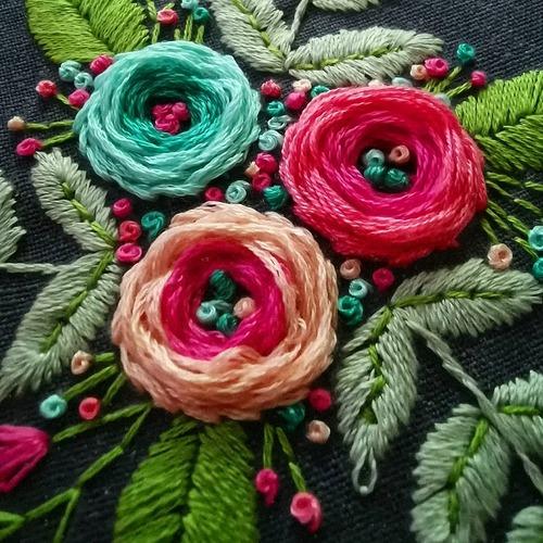 Фото. Цветы из китайского набора.  Автор работы - leka1972