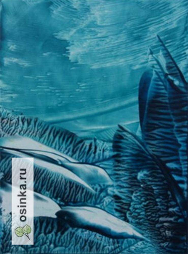 Фото. Зимние узоры. Энкаустика. Автор работы - Ольга-Гришнякова