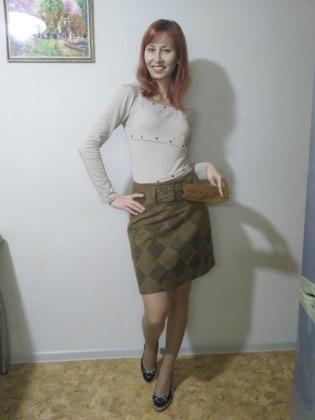 Фото. Блузка и юбка-переделка. Автор работы - IvlevaAnna