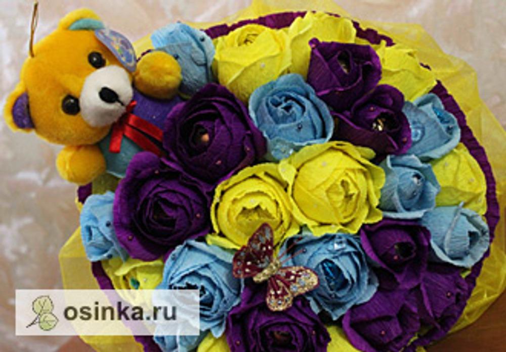 Фото. Фантазийный букет. Автор работы - Белая Лилия2010 .