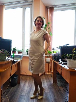 Фото. Платье для работы. Автор работы - Муми