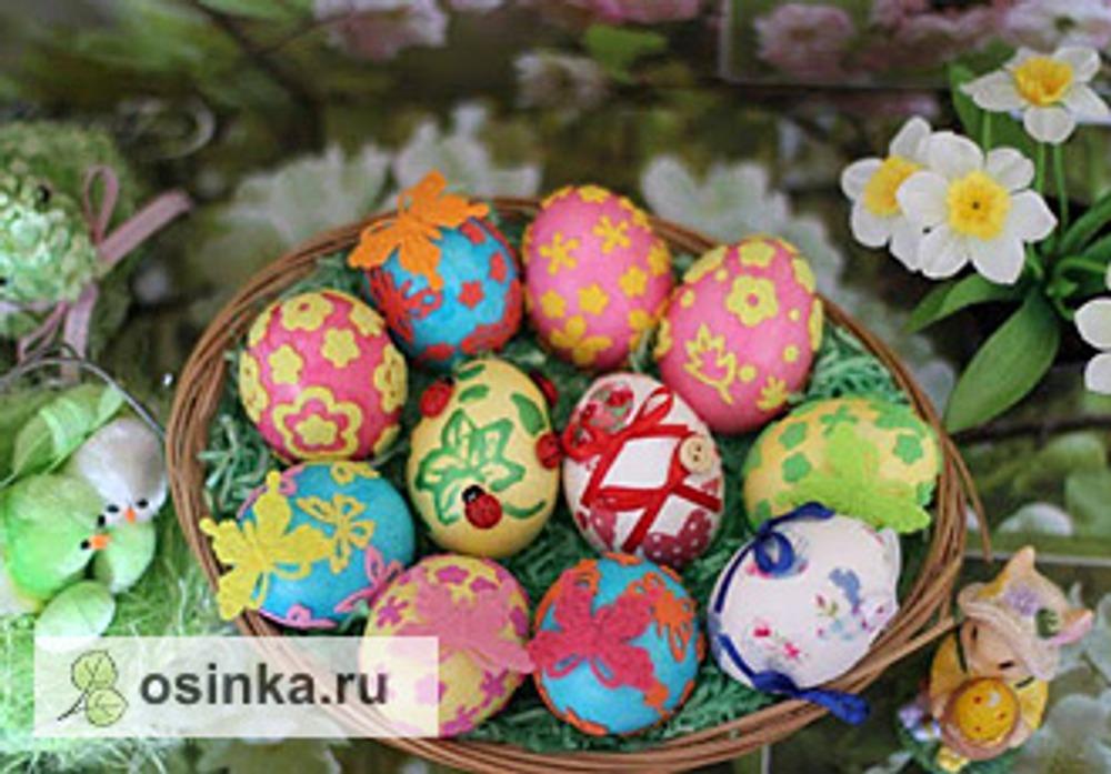 Фото. Декор пасхальных яиц от milagros .