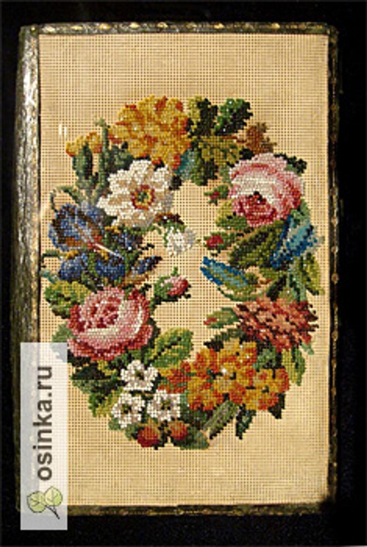 Вышивка бисером и шелком по канве 14788f919a027