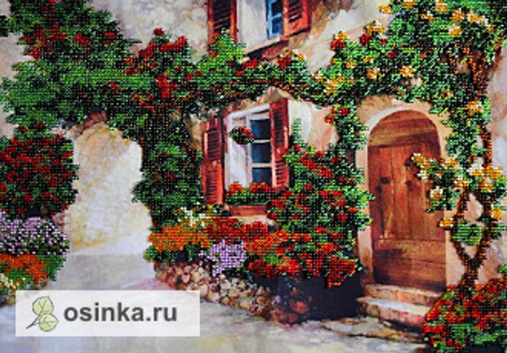 Фото. Вышитая бисером картина. Автор работы - Krivcha .