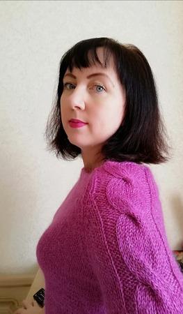 Фото. Пуловер себе. Автор работы - PolinaM