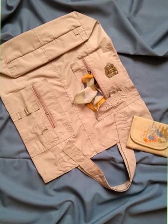 Фото. Сумка из старых шорт - все карманы на месте! Автор работы - feerka