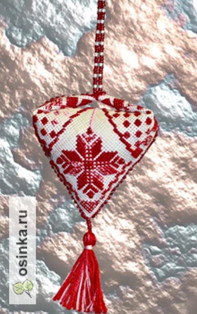 Фото. Пендибуль - новогоднее украшение. Автор - Ruta129 .