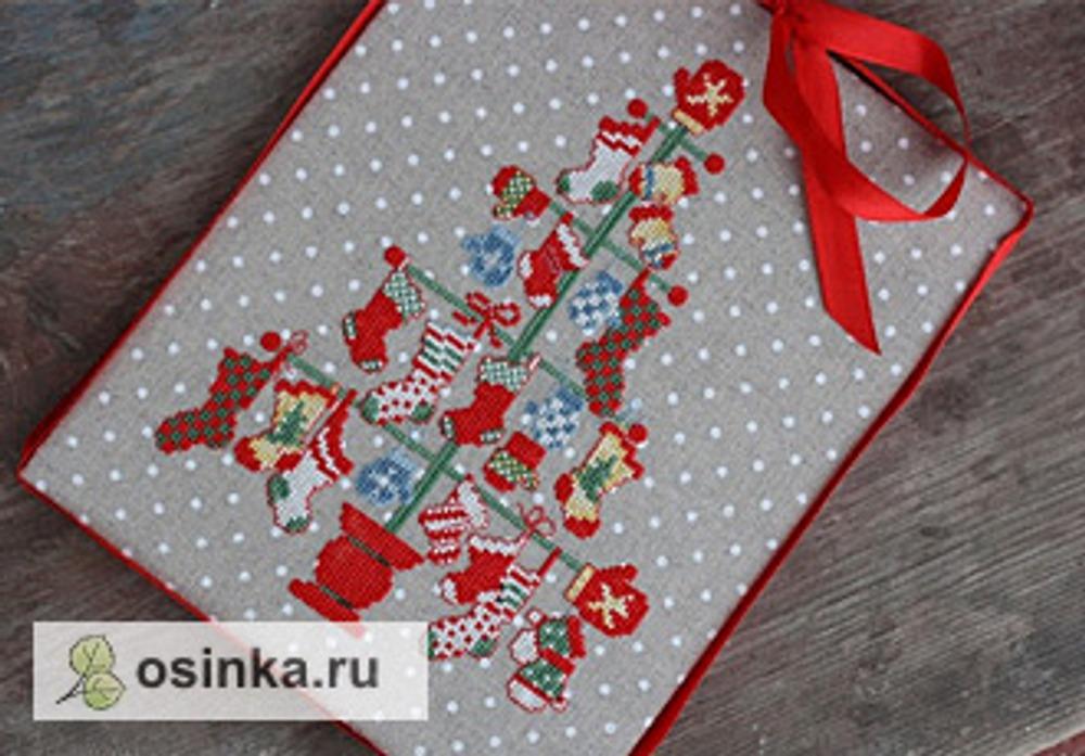 Фото. Вышитый пинкип от al.kolpakova .