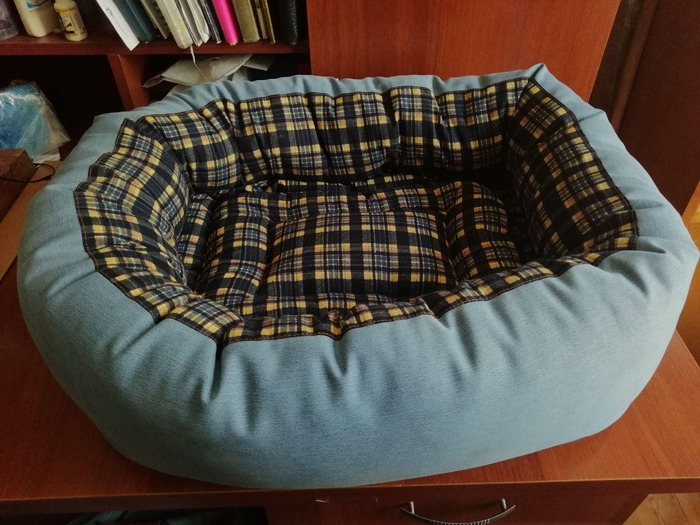 Фото. Лежанка для собаки.  Автор работы - Гостья издалека