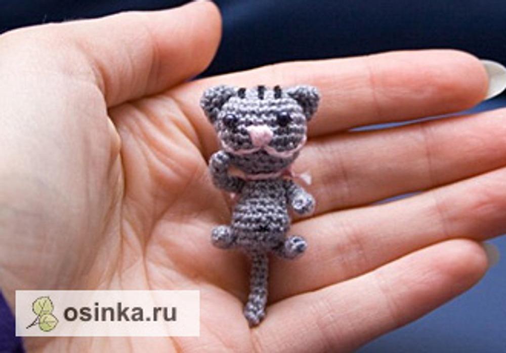 Фото. Эту малышку зовут Котяшка. Автор работы - ladyirisha .