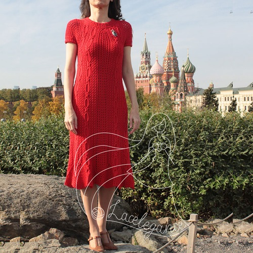 Фото. Платье Road to Rome.  Автор работы - Lacelegance
