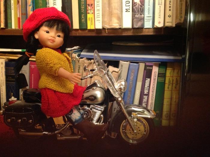 Фото. Одежда для кукол.   Автор работы - kleminas