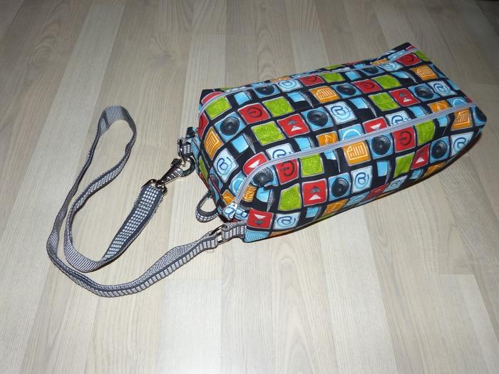 Фото. Спортивная сумка для похода на тренировку должна быть удобной и вместительной.  Автор работы - Bth
