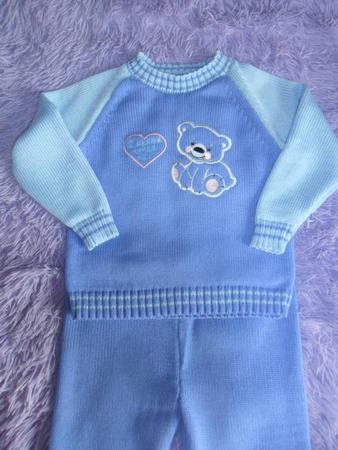 Фото. Детский пуловер, машинное вязание.  Автор работы - luchir