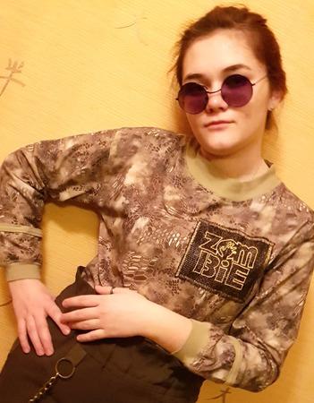 Фото. Комплект для дочери, то ли милитари, то ли зомби-стайл.  Автор работы - Moldovanka