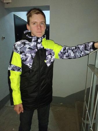 Фото. Куртка подростковая. Автор работы - Муми