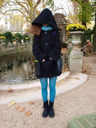 Фото. Дафлкот для девушки.  Пальтовая ткань (шерсть + вискоза).  Автор работы - Викуля