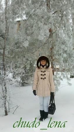 Фото. Светлое пальто по мотивам дафлкота. Автор работы - chudo_lena