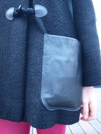 Фото. ... + застежки готовые,  карманы кожаные. Автор работы - Викуля