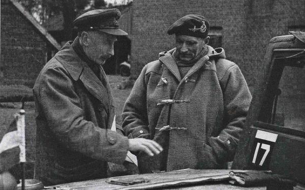 Фото. Фельдмаршал Британских вооруженных сил Бернард Лоу Монтгомери.