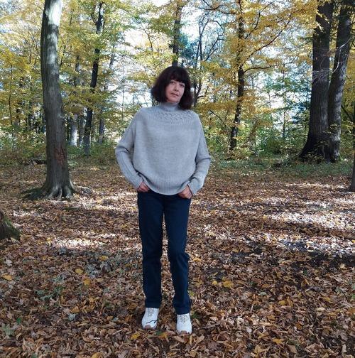 Фото. По мотивам Bright sweater Junko Okamoto. Автор работы - natabu