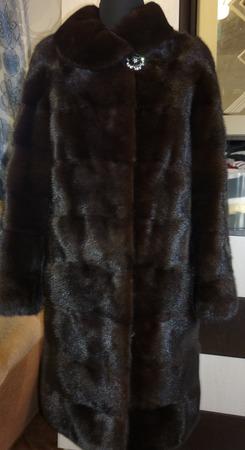Фото. Норковое пальто.  Автор работы - Слобожанка