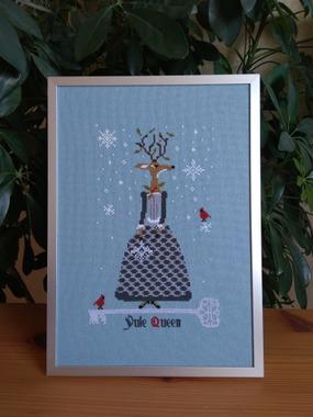 """Фото. """"Yule Queen""""(""""Королева Рождества"""") от The primitive hare.  Автор работы - Luffa"""