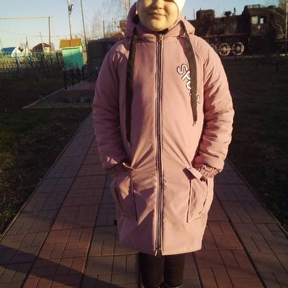 Фото. Куртка для девочки-подростка. Автор работы - мамочкаИрочка