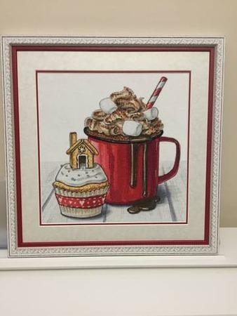 """Фото. Новогодний """"Зимний десерт"""" - подарок самой себе на Новый год. Автор работы - Arishonok"""
